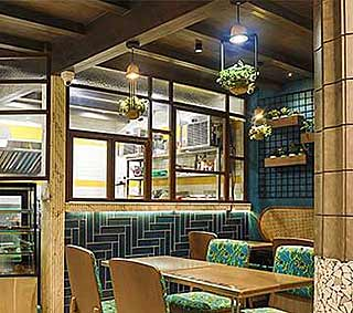 Mumbai's best cafe interior design, Seeds Of Life, interior design firm, Restaurant interior design, Hotel Interior designer, Café architects, Sumessh Menon, India, Sumessh Menon, Sumessh Menon & Associates, Best Restaurant Interior Designers, Top Interior designer, Indian Interior designers, Best Restaurant architects in India, restaurant interior design firm, Modern Interior design, Contemporary interior designers, Best interior designers, best Indian architects, 145 Bar and Kitchen, restaurant interiors, Mumbai restaurants, Theme restaurant, high energy bar space, colourful kinetic mannequins, Lighting design, Mumbai best restaurant, creative restaurant interior, best restaurant interiors, Interior ideas, Café interiors, Ruhaan Hospitality, Café interior design, Best café interiors, Mumbai café interior ideas, Café ideas, Small café interiors, Café architecture, Hospitality interiors, Hospitality architects